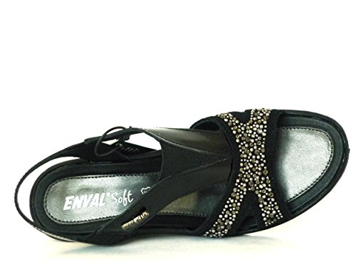 SOFT ENVAL MOBILE ZEPPA PARA MUJER, COLOR NEGRO negro