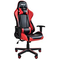 Merax PP036127GAA High Back Gaming Chair with Lumbar Support and Headrest by Merax