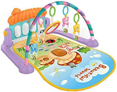 3 in 1 Baby Light Musical Gym Play Mat Lay /& Play Fitness Fun Piano Boy Girls