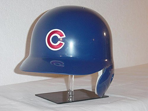 Rawlings Chicago Cubs MLB Classic Style Official Authentic Batting Helmet (Home Helmet, Left Flap for Right Handed Batter)