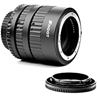 Shoot Extension Tube Set Auto Focus Macro Nikon D7200 D7100 D7000 D5300 D5200 D5100 D5000 D3100 D3400 D3300 D3000 D800 D600 D300s D300 D90 D80 Digital SLR Cameras