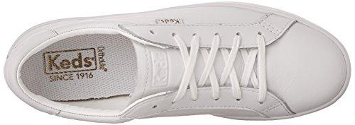 Ace Keds White Leather Core White Oxfords WoMen vwq5w61
