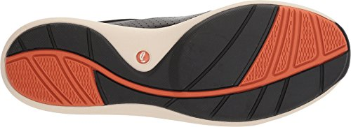 CLARKS Women's Un Cruise Lace Black Leather 11 B US by CLARKS (Image #2)