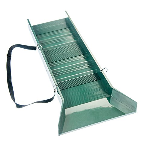 Lightweight Box (SE GP-SB32 Prospector's Choice Green Lightweight Sluice Box, 30