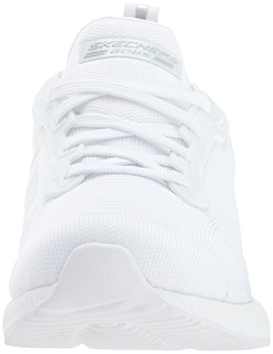 Blanco Skechers Photo Trainers Foam Fitness Bobs Frame Squad Memory Women'S wwWZAqzUr