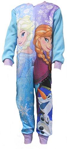 Disney Frozen Girls Sleepsuit Pajamas