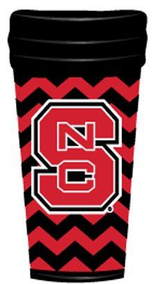 ETC NCAA North Carolina State Wolfpack Coffee Tumbler Chevron