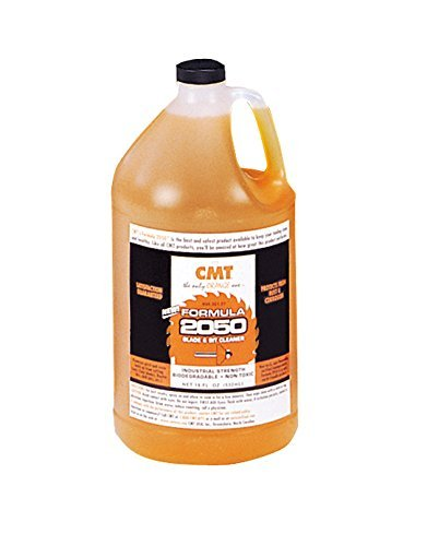 CMT 998.001.03 Formula 2050 Blade and Bit Cleaner, 1-Gallon Plastic Jug - Tight 90 Elbow Liquid