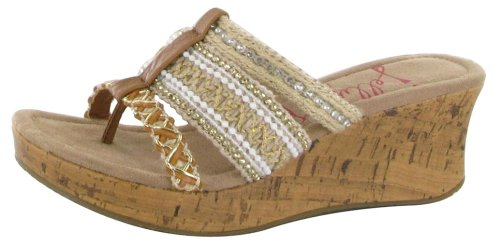 Jellypop Fortune Womens Wedge Thong Sandals Camel Jute 8.5 - Buy Online in  Oman. | Apparel Products in Oman - See Prices, Reviews and Free Delivery in  ...