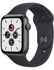 2021 AppleWatchSE (GPS) • 44‐mm kast van spacegrijs aluminium • Inktblauw sportbandje- Standaardmaat