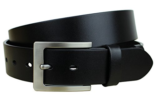 from usa bullko mens dress belt classic buckle top leather