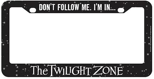 StealStreet SS-KHD-10016520 The The Twilight Zone License Plate Frame