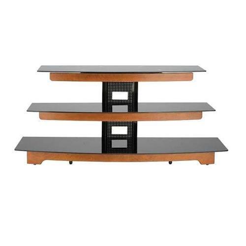 Sanus 3 Shelf Tv Stand (Sanus Audio Video Stand Waterfall design - fits AV components & TVs to 56