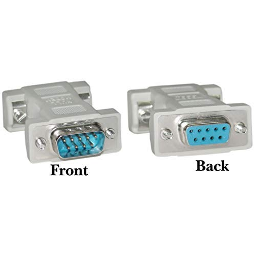 Rs Port Extender 232 - GOWOS Null Modem Adapter, DB9 Male to DB9 Female