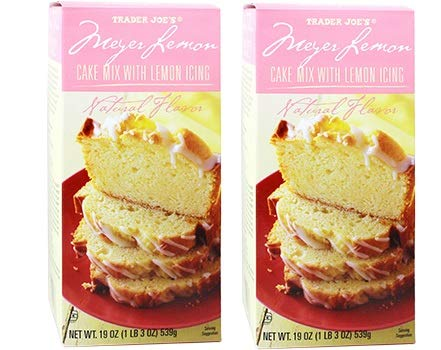 Trader Joe's Meyer Lemon Cake Mix Pack of 2 Boxes