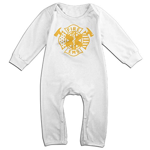 Unisex Baby Printed Fire EMS Bodysuit Jumpsuit - Jumpsuit Ems