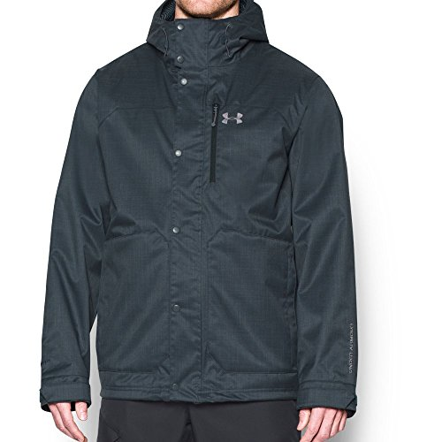 (Under Armour Men's UA Coldgear Infrared Porter 3-in-1 Jacket, Stealth Gray (008)/Graphite, X-Large)