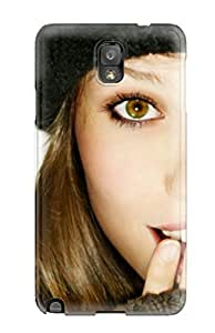 MaritzaKentDiaz Case Cover For Galaxy Note 3 - Retailer Packaging Girl In Beanie Protective Case