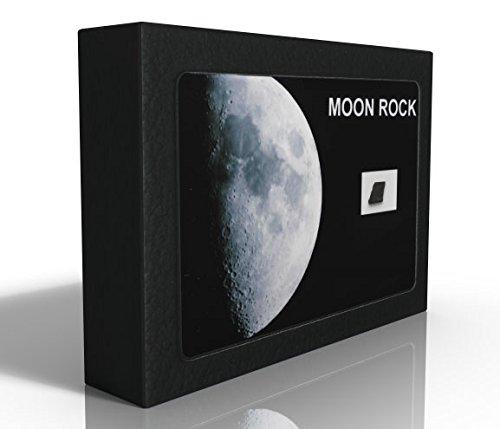 Décrochez la Lune ! Fragment de la Lune format « Collection » (XL) avec certificat Météorites et Bijoux