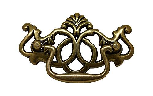 - Silverline B2012 Antique English Craftsman Shabby Chic Bail Pull Hole Centers (CC): 3