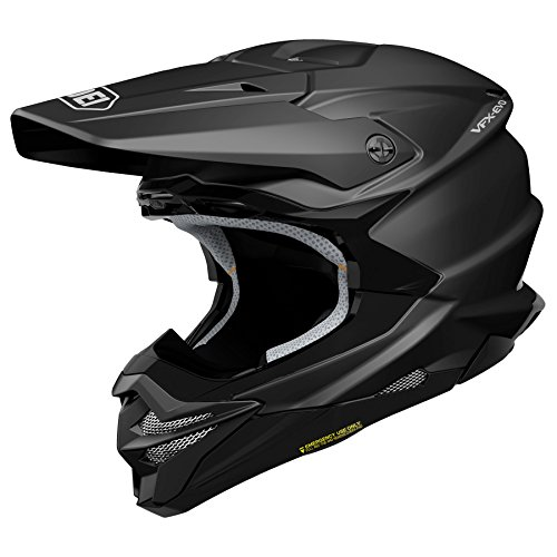 Shoei VFX-EVO Offroad Motorcycle Helmet Matte Black Medium (More Color and Size Options)