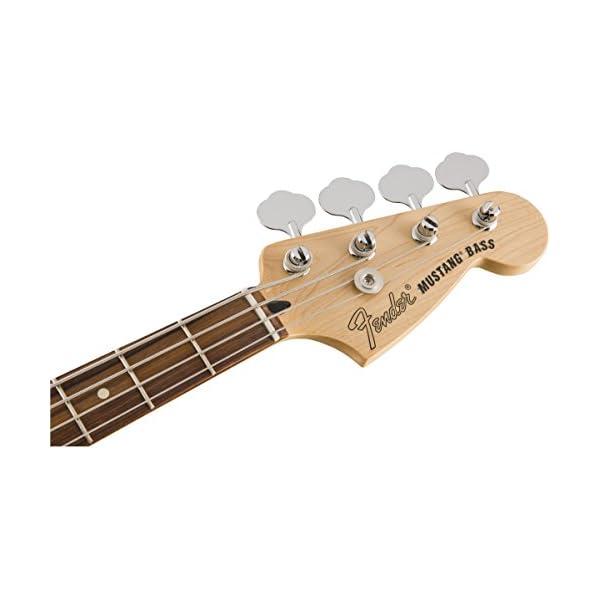 Mustang Bass PJ PF Torino Red