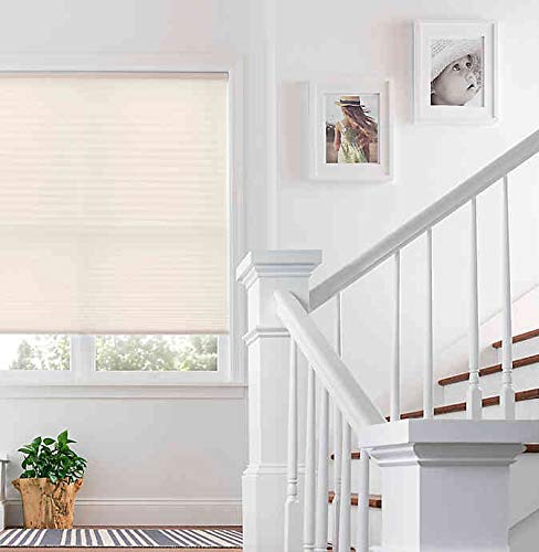 Real Simple Cordless Pleated 20-Inch x 64-Inch Shade in Ivory