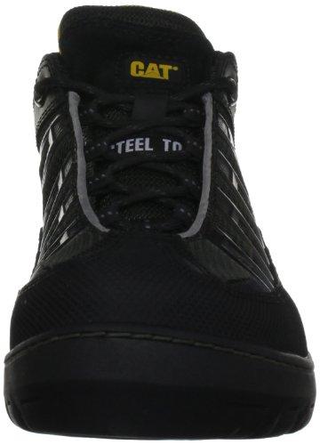 PROTEQ KAUFMANN S1P CAT LG ZWART 41 - Zapatos De Seguridad de piel Unisex adulto Negro (zwart 00)