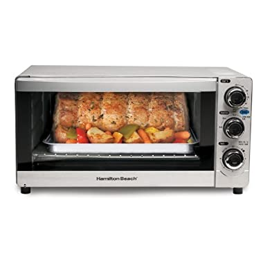 Hamilton Beach 31809C 6-Slice Toaster Oven/Broiler