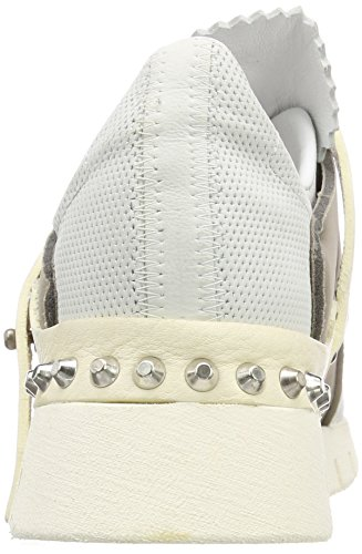 A.S.98 Denalux, Stivali Donna Mehrfarbig (White Grey 0001)