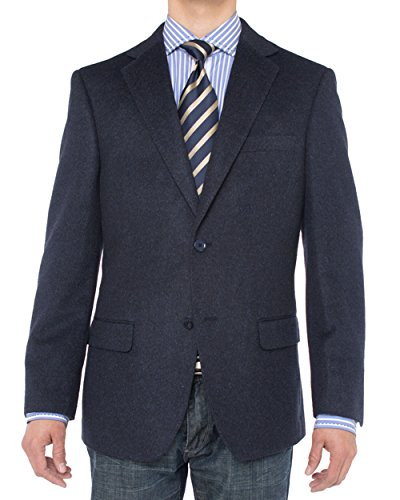 LN LUCIANO NATAZZI Men's Luxurious Camel Hair Blazer Modern Fit Suit Jacket (50 Long US / 60 Long EU, ()