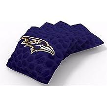 "PROLINE 6""x6"" NFL Cornhole Bean Bags - Pigskin Design"