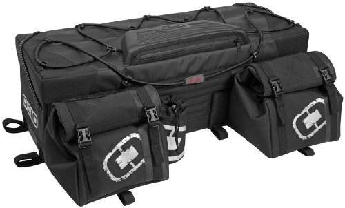 ogio 119003.36 Honcho Rear ATV Bag - Stealth Black - Rear Black Rack Bag
