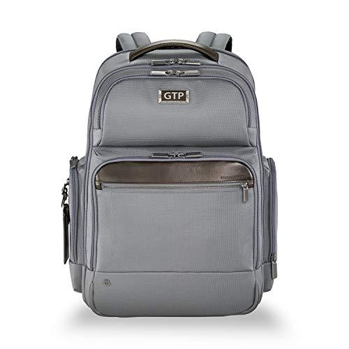 Briggs & Riley @work Large Cargo Laptop Backpack (Grey, Monogramming Included) ()