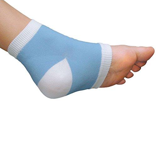 PediFix Visco-GEL Heel-So-Smooth Heel Sleeves – One Size Fits Most