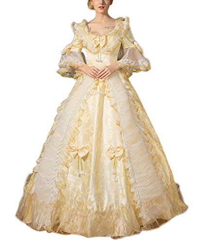 Lemail Masquerade Ball Gown for Women Royal Vintage