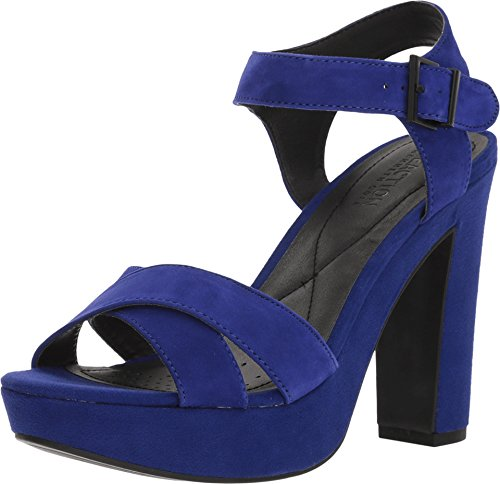 - Kenneth Cole REACTION Women's I Can Change Cobalt Suede 8 M US