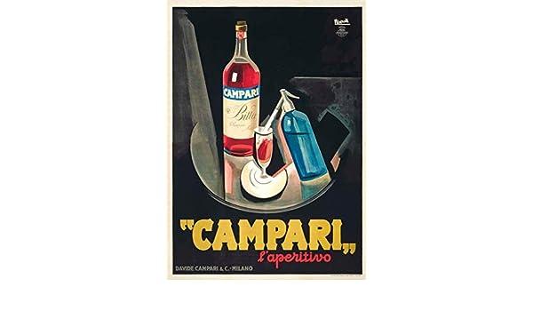 World of Art Póster de reproducción con Cervezas, vinos y ...