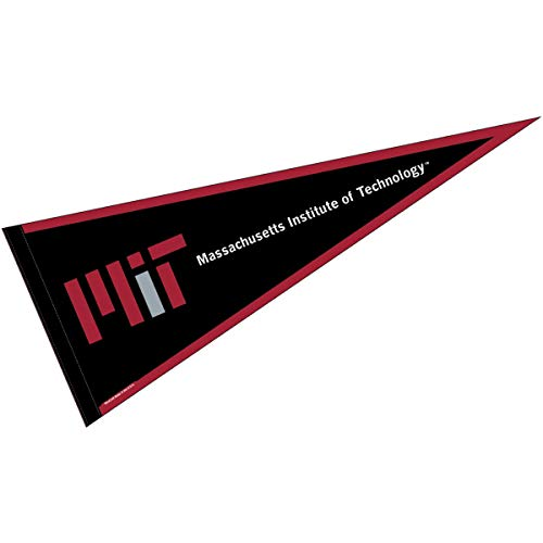 College Flags and Banners Co. MIT Pennant Full Size Felt