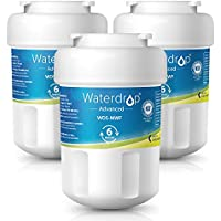 Waterdrop NSF 53&42 Certified MWF Replacement Refrigerator Water Filter, Compatible with GE MWF, MWFP, MWFA, GWF, GWFA, SmartWater, Kenmore 9991, 46-9991, 469991, Advanced, Pack of 3