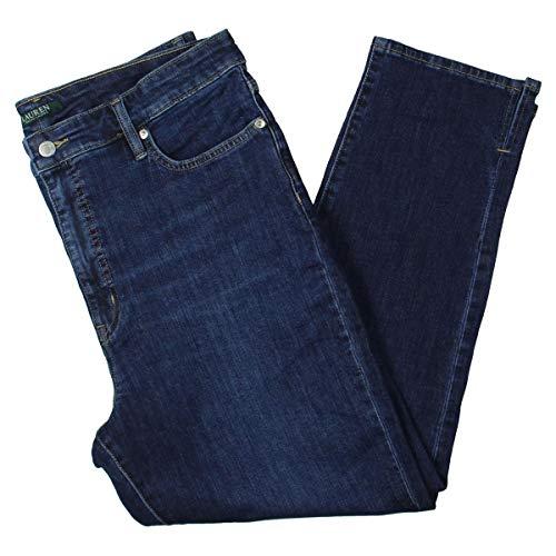 LAUREN RALPH LAUREN Regal Ankle High-Rise Straight Leg Jeans