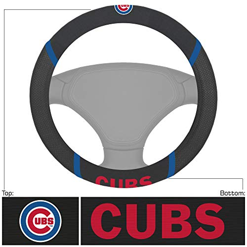 FANMATS MLB - Chicago Cubs Steering Wheel Cover