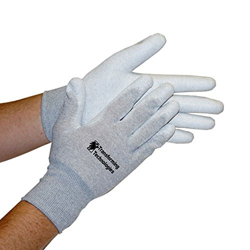 StaticTek GL4500P ESD Safe Work Gloves-Lightweight Static Dissipative Glove Fabric for Static Control in Electronic-Computer Work Stations,Palm-Coated ESD Gloves-Large,Pack of - How To Pair Pick A Of Glasses