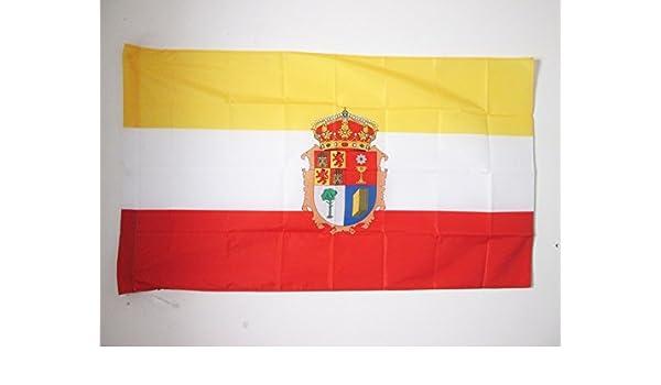 AZ FLAG Bandera de la Provincia DE Cuenca 150x90cm para Palo ...