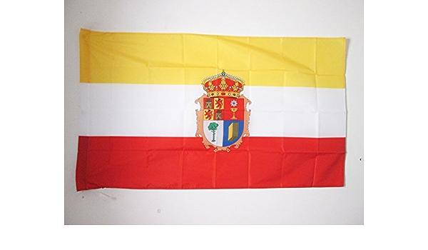AZ FLAG Bandera de la Provincia DE Cuenca 150x90cm para Palo - Bandera Cuenca EN Castilla-LA Mancha 90 x 150 cm: Amazon.es: Jardín