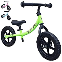 The ideal way to get your kids out and about. The Banana Bike's lightweight design makes it ideal for small kids to power along for long distances, it's also easy for grown ups to carry. The puncture proof tyres, mean you never have to worry ...