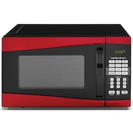 red 1000w microwave oven - 8