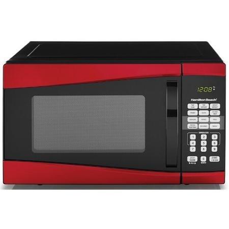 Hamilton Beach 0.9 cu ft 900W Microwave,by Product Hamilton Beach (Red)