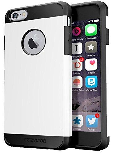 de goma de TPU y policarbonato 6 s y 6 plus Funda para iPhone 6 De EZZYMOB h/íbrida resistente a impactos capa dual