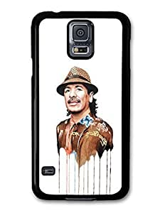 AMAF ? Accessories Carlos Santana Melting Clothes Portrait Illustration case for Samsung Galaxy S5